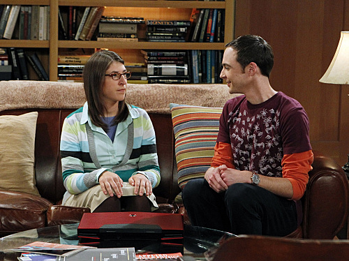 Amy with Sheldon