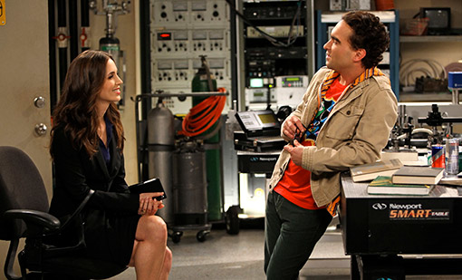 Eliza Dushku on The Big Bang Theory
