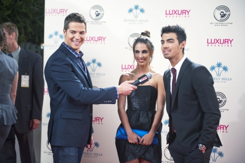 Adrianna on the Red Carpet