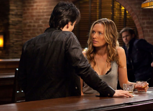 Michaela McManus on The Vampire Diaries