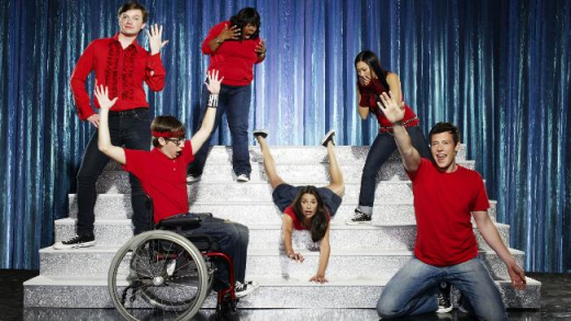 Promo Pic for Glee