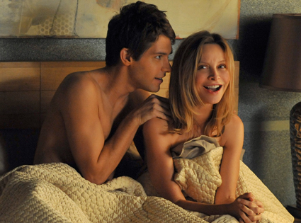 Ryan Devlin and Calista Flockhart