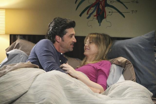 Derek and Meredith In Bed!