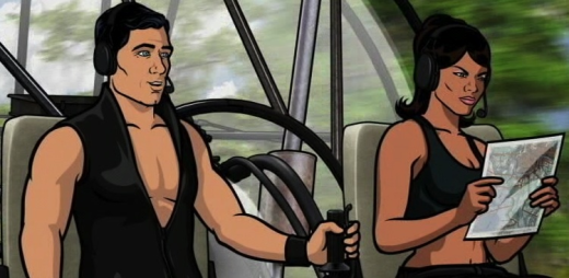 Lana and Archer Airboat Ride
