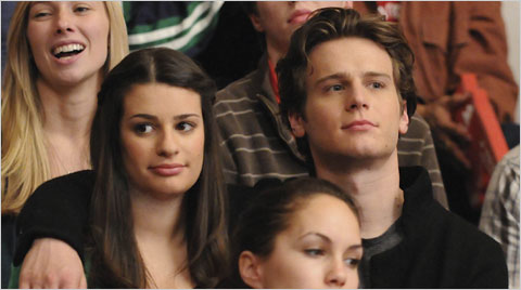 Jonathan Groff on Glee