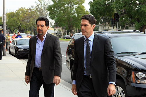 Rossi and Hotch Picture