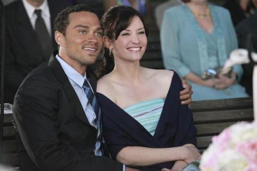 Lexie and Jackson on Grey's