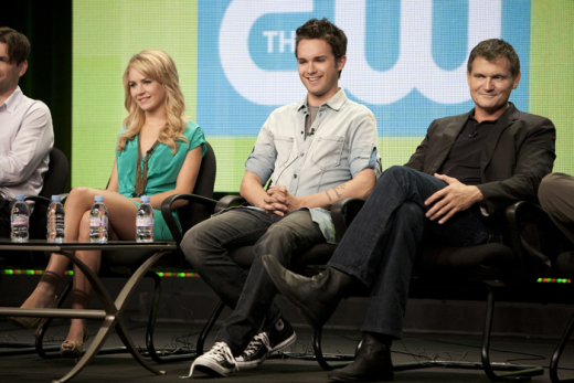 Britt Robertson, Thomas Dekker and Kevin Williamson