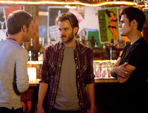 David Gallagher on The Vampire Diaries