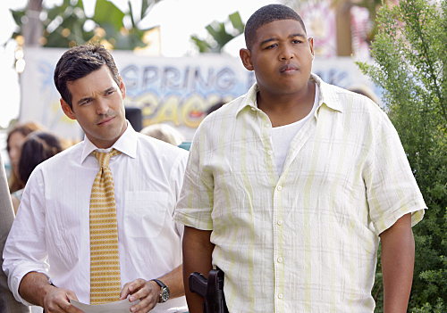 Omar Miller on CSI: Miami