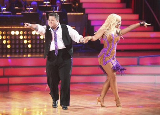Chaz on Dancing With the Stars