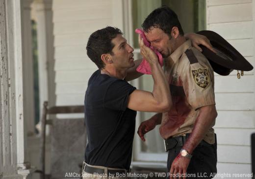 Shane Helps Rick