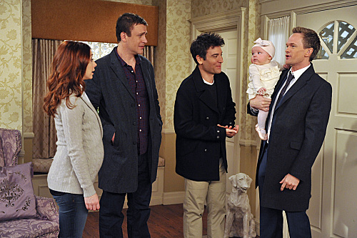 Barney with a Baby