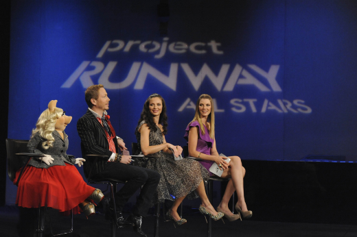 Miss Piggy on Project Runway