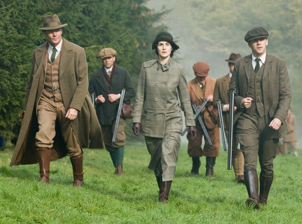 Downton Abbey Season Two Finale Pic