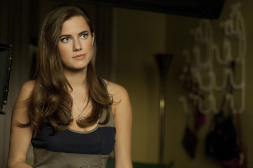 Allison Williams on Girls