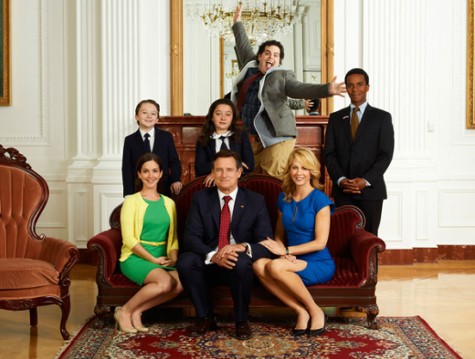 1600 Penn Cast Photo