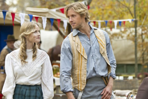 Lindsay Pulsipher and Matt Barr