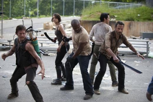 The Walking Dead Season 3 Scene