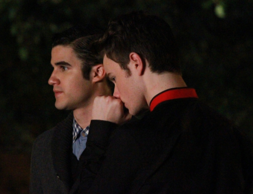 Kurt and Blaine in NYC