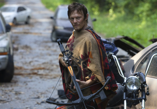 Daryl with a Crossbow