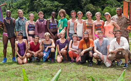 Survivor: Caramoan Cast Pic