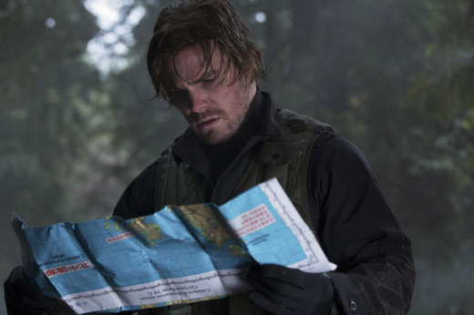 Oliver with a Map