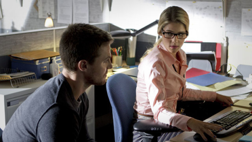 Emily Bett Rickards on Arrow