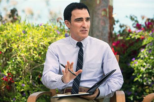 Patrick Fischler as Gabriel.