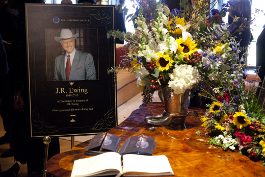 RIP, J.R. Ewing