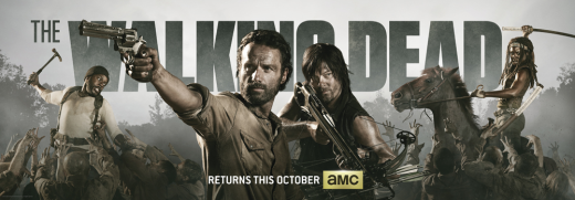 Walking Dead Comic-Con Poster