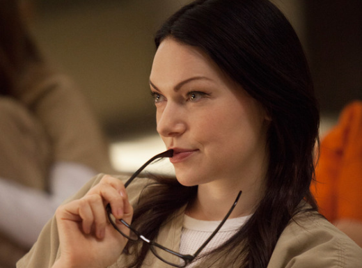 Laura Prepon on Orange is the New Black