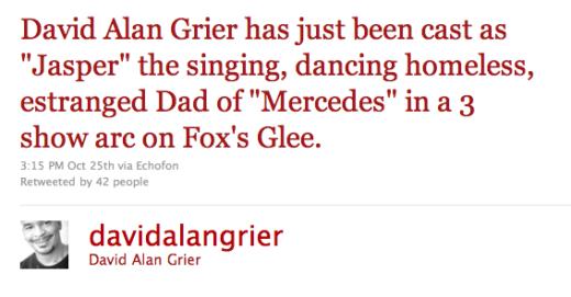 David Alan Grier Tweet