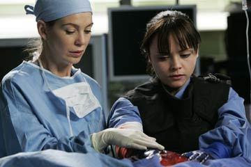 Hannah Davies & Meredith Grey