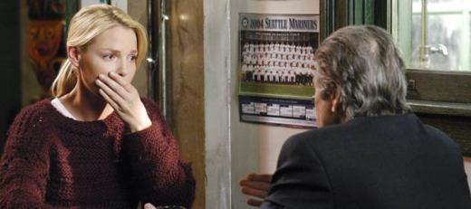 Izzie... Still Wearing Denny's Sweater
