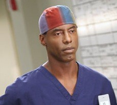 Isaiah Washington as Dr. Preston Burke