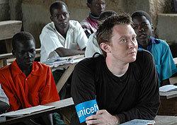 Clay Aiken: UNICEF Ambassador