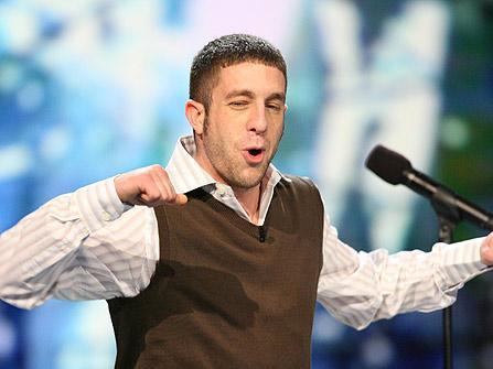 Elliott Yamin is Pumped Up