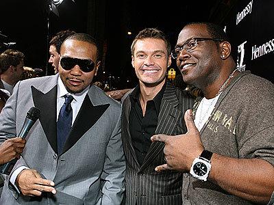 Jackson, Seacrest, Timbaland