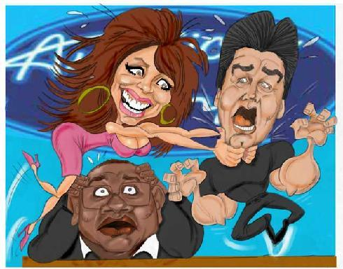 American Idol Cartoons