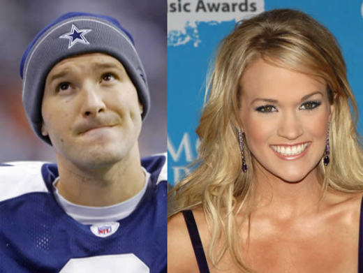 Carrie Underwood, Tony Romo