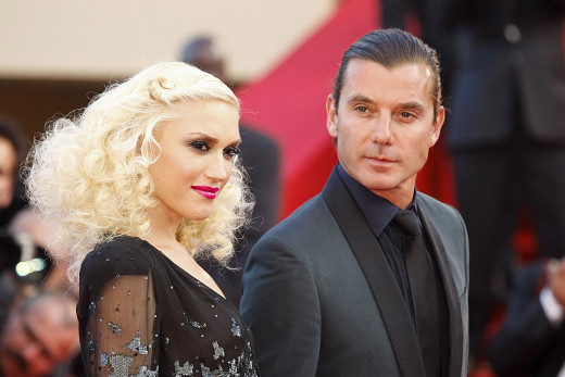 Gavin Rossdale and Gwen