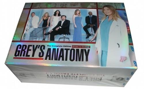 Greys 1-7 DVD