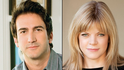 Josh Schwartz and Stephanie Savage