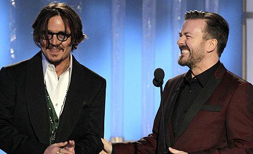 Depp/Gervais