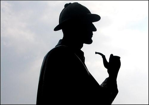Sherlock Holmes Shadow