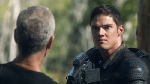 Jay Ryan on Terra Nova