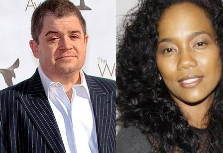 Patton Oswalt and Sonja Sohn