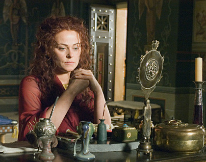 Polly Walker on Rome