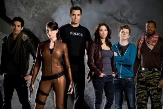 Continuum cast pic